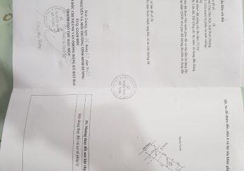 Cần bán đất  giá rẻ tại Phường Phú Hòa, TP. Thủ Dầu Một diện tích 93.3m2